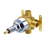 "Danze D130000BT  1H 4-Port / 3-Outlet Diverter Valve 1/2"" IPS/Copper Sweat Ports for Shower Systems"