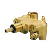 """Danze D155000BT  1H 3/4"""" Thermostatic Valve w/ Stops for Shower Systems"""