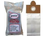 Clarke Replacement ECC514 PAPER BAG, CLARKE COMBIVAC & FILTER VACS ENV 10PK CLR-14605