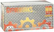 XXL Gloveworks HD P/F Textured Latex Gloves Case AMXILHD49100