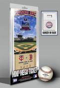 Mini-Mega Ticket - Minnesota Twins - 2010 Target Field Opening Day Minnesota Twins TFMMBBMIN10OD TFMMBBMIN10OD