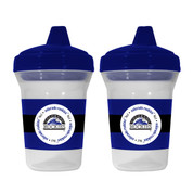 Baby Fanatic BFBBCOLS 2-Pack Sippy Cups - Colorado Rockies Colorado Rockies