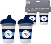 Baby Fanatic BFFBTENS NFL Tennessee Titans 2 Pack Sippy Cup