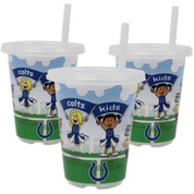 Baby Fanatic BFFBINDSGC NFL Indianapolis Colts Sip N Go Cups (3-Pack)