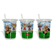 Baby Fanatic BFBBSFRSGC Sip N Go 3 Pack of Cups - San Francisco Giants San Francisco Giants