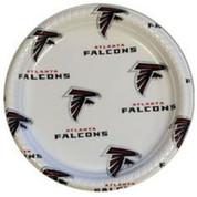 12 Pack Atlanta Falcons Plates PPFBATL
