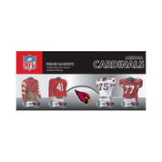 4 Piece Magnet Set Arizona Cardinals EUFBARIM