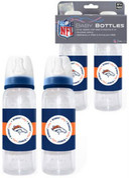 Baby Fanatic 2-Pack Baby Bottles NFL Seattle Seahawks BFFBSEAB