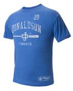 108 Stitches, LLC  108 Stitches Josh Donaldson Arched Bat T-Shirt Large 108BB2088530405