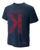 108 Stitches, LLC  David Price Backwards K T-Shirt Large 108BB2081150605
