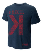 108 Stitches, LLC  David Price Backwards K T-Shirt X-Large 108BB2081150607