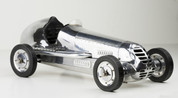 20.75 in. Length - BB Korn - 1930s Racer Replica - Silver - Authentic Models PC013R PC013