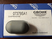 Grohe 07379SA1  Rubber Spray Head Button, No Finish