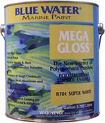 BLUW MEGA GLOSS BATTLESHIP GY  BLUE WATER MARINE PAINT 8708G