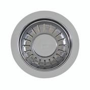 """Franke 906 SN Universal 3 1/2"""" Pop-up Sink Strainer Basket Lever, Satin Nickel"""