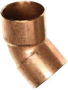 """NIBCO, INC."" 6062 NIBCO 606 2 45 degree Fitting Elbow, Fitting x C Wrot, 2"", Copper"