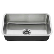 American Standard Ss Kitchen Sinks American Standard 30X18 Sb Sink W/ Drain Stainless Steel American Standard 18SB9301800T075