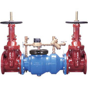 Zurn 3350 Wilkins Double Check Valve, Lead-Free, Flanged Body, Flanged NRS x Flanged NRS