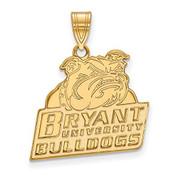 LogoArt GP001BRY Sterling Silver w/GP LogoArt Bryant University La