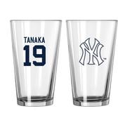 Boelter Brands  New York Yankees MLB Baseball #19 Masahiro Tanaka Pint Glass BOBBNYYPMT