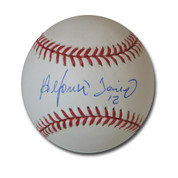Alfonso Soriano Autographed MLB Baseball Chicago Cubs AUSORIANOBBC