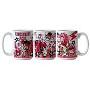 MLB Cincinnati Reds Tokidoki Coffee Mug BOBBCINTOKICM