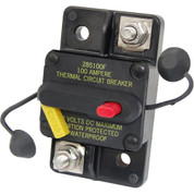BLUE SEA SYSTEMS 6033337 Blue Sea Systems 285-Series Surface Mount 80A Circuit Breaker