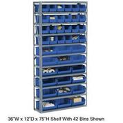 Bin Shelving Open Shelving 506208BL