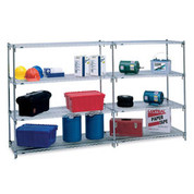 "Metro 5A377C Super Adjustable 2 Shelving - 72x18x74"" - Starter Units"