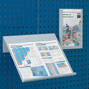"""Bott 14014009.16 Toolboard Shelf For Perfo Panels-Vertical Document Holder - 9""""Wx12""""D (Letter Size)"""