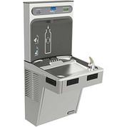 Elkay LMABFDWSLK EZH2O Water Bottle Refilling Station, Single, Non Refrigerated, Filtered,Light Gray