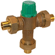 Zurn 12-ZW1017XL 1/2 In. FNPT Thermostatic Mixing Valve - Lead Free Cast Bronze - ASSE1017
