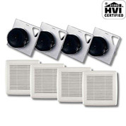 Broan AE80BF Fan Finish Pack, Energy Star, 80 CFM, 1.5 Sones  AE80BF