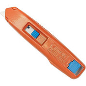 Self-Retracting Aluminum Safety Box Cutter With 6 Blades