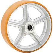 """12"""" x 3"""" Polyurethane Wheel - Axle Size 3/4"""""""