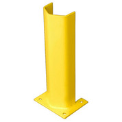 "1/4"" Thick 18"" H Steel Post Protector Yellow"