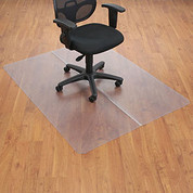 "Aleco® Office Chair Mat for Hard Floor - 46""W x 60""L - Straight Edge"