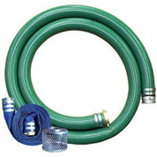 "Apache 98128662 3"" Trash Pump Hose Kits w/ Aluminum Couplings and Fittings"