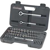 "Blackhawk 97065 1/4"" and 3/8"" Drive 64 Piece Combination Socket Set"