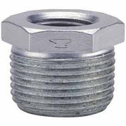 1 In X 3/4 In Galvanized Malleable HeX Bushing 150 PSI Lead Free