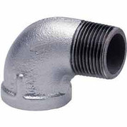 1 In Galvanized Malleable 90 Degree Street Elbow 150 PSI Lead Free