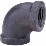 1 In. Black Malleable 90 Degree Elbow 150 PSI Lead Free