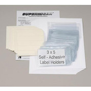 """Aigner Index Inc APX-46 Self Adhesive Label Holder 6""""W X 4""""H (50 pcs/pkg)"""