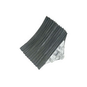 """Buyers Products Laminated Rubber Wheel & Tire Chock WC0888 8""""L x 8""""W x 8""""H"""
