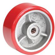 """5"""" x 2"""" Polyurethane Wheel - Axle Size 5/8"""""""