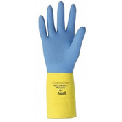 Chemi-Pro Unsupported Neoprene Gloves, Ansell 224-8, 1-Pair