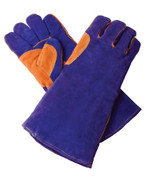 Shark Industries Ltd SRK14525 Shark Shark Heavy Duty Welding Glove, Foam Lined And Kevlar Stitched, Blue