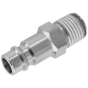 Prevost PRVESI071251S Safety Coupling 1//4 MNPT High Flow Smart