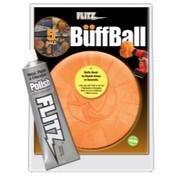 "5"" Large Buff Ball with Free Flitz Polish 1.76 Flitz FTZPB101-50 FTZPB101-50"