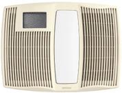 Broan Nutone 110 CFM, 0.9 Sones, Heater/Fan/Light/Night-Light. Recommend 77 Series switch. QTX110HL